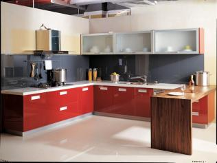 Alumix Kitchen L Shape