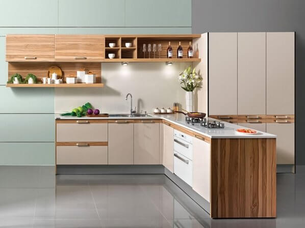 Coronation Kitchen - Lshape